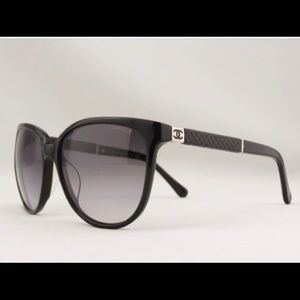 Chanel 5225q Black Butterfly Sunglasses